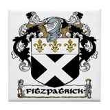 Fitzpatrick Coat of Arms Ceramic Tile