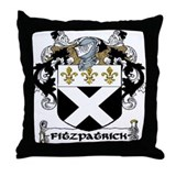 Fitzpatrick Coat of Arms Throw Pillow