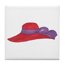 Red Hat Tile Coaster