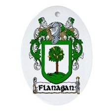 Flanagan Coat of Arms Keepsake Ornament