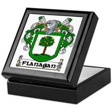 Flanagan Coat of Arms Keepsake Box