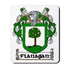 Flanagan Coat of Arms Mousepad