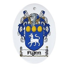 Flynn Coat of Arms Keepsake Ornament