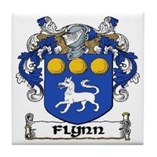 Flynn Coat of Arms Ceramic Tile