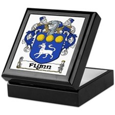 Flynn Coat of Arms Keepsake Box