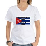 What Happens In CUBA Stays There Shirt