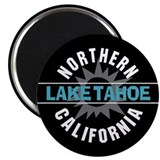 "Lake Tahoe California 2.25"" Magnet (100 pack)"