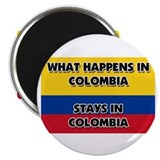 What Happens In COLOMBIA Stays There Magnet