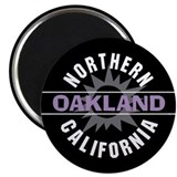 "Oakland California 2.25"" Magnet (10 pack)"