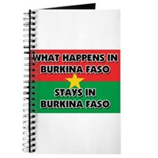 What Happens In BURKINA FASO Stays There Journal
