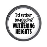 Wuthering Heights Wall Clock
