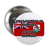"What Happens In BERMUDA Stays There 2.25"" Button ("