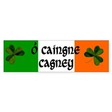 Cagney Coat of Arms Bumper Sticker