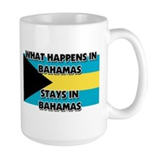 What Happens In BAHAMAS Stays There Mug