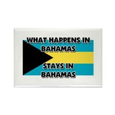 What Happens In BAHAMAS Stays There Rectangle Magn