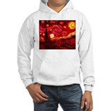 Fiery Night Hoodie Sweatshirt