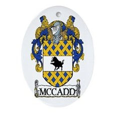 McCann Coat of Arms Ornament (Oval)