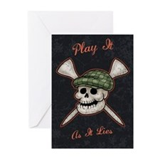 Play It As It Lies Greeting Cards (Pk of 10)