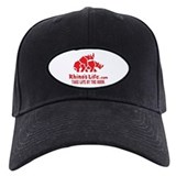 Rhino's Life Baseball Hat - Red Logo