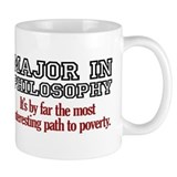 Major in Philosophy Coffee Mug