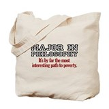 Major in Philosophy Tote Bag
