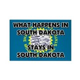 What Happens In SOUTH DAKOTA Stays There Rectangle