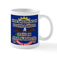 What Happens In NORTH DAKOTA Stays There Mug