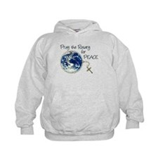 Pray the Rosary for Peace Hoodie