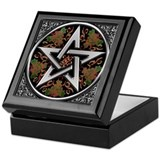 Celtic Pentagram Keepsake Box