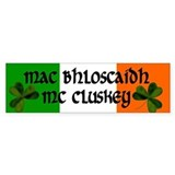McCluskey Coat of Arms Bumper Sticker