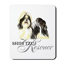 Shih Tzu Rescue Mousepad
