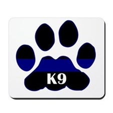 K9 Thin Blue Mousepad