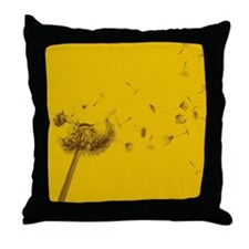 Wish Flower Throw Pillow