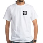 Gillian and Pal White T-Shirt