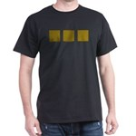 Yellow Latticework Dark T-Shirt