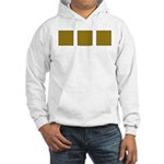 Yellow Latticework Hooded Sweatshirt