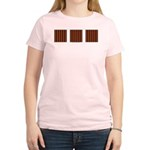 Orange & Yellow Latticework Women's Light T-Shirt