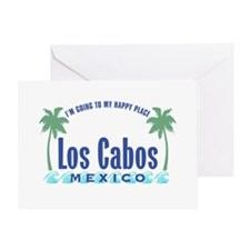Los Cabos Happy Place - Greeting Card