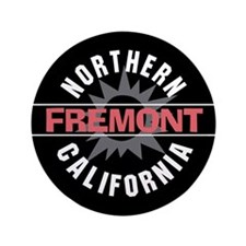 "Fremont California 3.5"" Button (100 pack)"