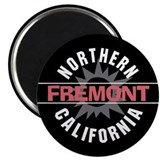 "Fremont California 2.25"" Magnet (10 pack)"