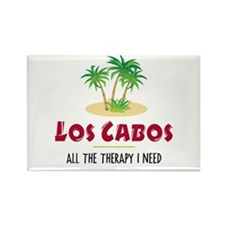 Los Cabos Therapy - Rectangle Magnet