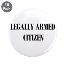 "Legally Armed 3.5"" Button (10 pack)"