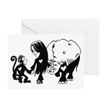 Gillian and Friends Greeting Cards (Pk of 10)