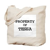 Property of Tessa Tote Bag