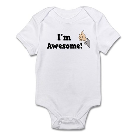 I'm Awesome Infant Bodysuit