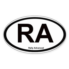 Rally Advanced Oval Decal