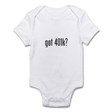 got 401k? Infant Bodysuit