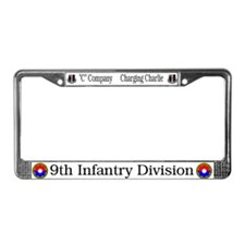 9th Division License Plate Frame