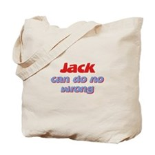 Jack Can Do No Wrong Tote Bag