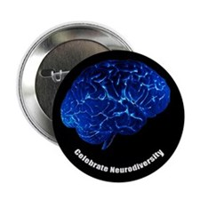 "Celebrate Neurodiversity 2.25"" Button (10 pack)"